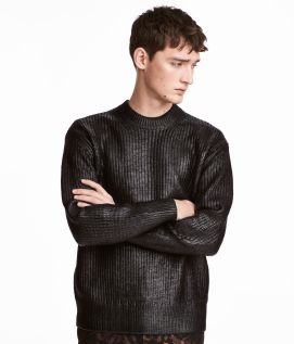 H&M Ribbed Coated Jumper, €59.99 http://bit.ly/2hMBeqg