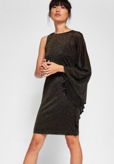 Monyca Draped One Shoulder Dress, Ted Baker, €180 http://bit.ly/2zBQXie