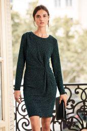 Glitter Twist Dress, Next, €57 http://www.next.ie/en/g882020s3#158322