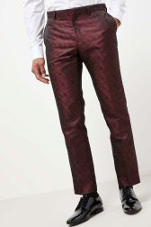 Next Leaf Jacquard Suit Trousers, €53 http://bit.ly/2ziboSv