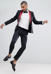Noose & Monkey Super Skinny Tux, from €87.83 http://bit.ly/2mJ5ROQ