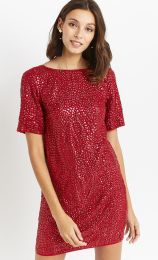 Embellished Shift Dress, Oasis, €210 http://bit.ly/2hoA0gW