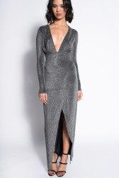Plunge V Neck Wrap Evening Maxi Dress, Dresses.ie, €46 http://bit.ly/2yytE5p