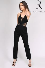 Rare London Wide Leg Lace Jumpsuit, €68 http://www.next.ie/en/gl9116s6