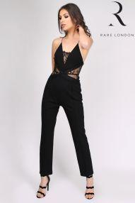 Rare London Wide Leg Lace Jumpsuit, €68 http://www.next.ie/en/gl9116s6