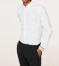 Zara Gold Cuff Detail Shirt, €39.95 http://bit.ly/2zT5vKs