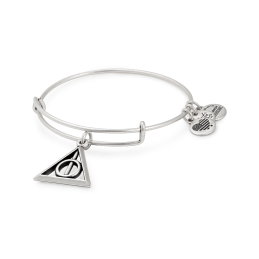 ALEX AND ANI Silver Harry Potter Deathly Hallows Bangle, €36 http://bit.ly/2AMxqgz
