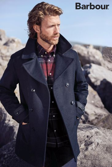 Barbour Navy Carr Jacket, Next, €357 http://bit.ly/2BTfkFR