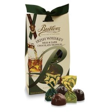 Milk & Dark Chocolate Irish Whiskey Truffles, Butlers Chocolate, €10 http://bit.ly/2AwEHkT