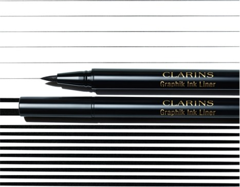 Clarins Graphik Ink Liquid Eyeliner Pen, €26 http://bit.ly/2B4vMHb