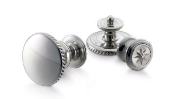 Dalvey Snap Stainless Steel Cufflinks