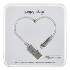 Happy Plugs iPhone USB Charge Cable, €30 http://bit.ly/2krFsEt