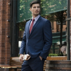 Navy Check 3 Piece Tailored Fit Suit Jacket, Magee 1866, €289 http://bit.ly/2BRQrKN
