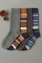 Mixed Heavyweight Fairisle Pattern Socks Four Pack, Next, €18 http://bit.ly/2kZnNnL