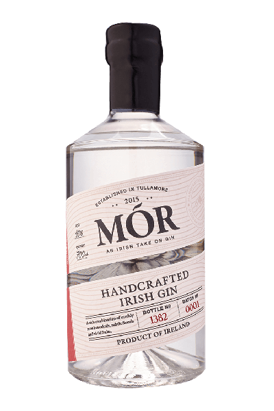 Mór Irish Gin 70cl, O'Briens, €42.95 http://bit.ly/2BSOZbk
