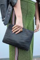 My Shining Armour Black Alligator Hero Handbag, €98 http://bit.ly/2A30M6j