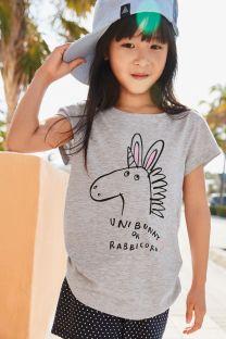 Next Girls Graphic Short Sleeve T-Shirt, €4.50 http://bit.ly/2AFDINU