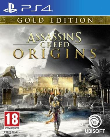 PS4 Assassins Creed Origins Gold Edition, GameStop, €99.99 http://bit.ly/2C2OYCx
