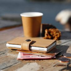 Secrid Miniwallet in Recycled Natural, Weir & Sons, €65 http://bit.ly/2yXbugg