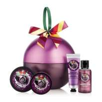 The Body Shop Frosted Plum Festive Tin, €28