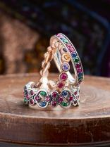 Thomas Sabo Royalty Colourful Stones Rings