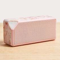 Urban Outfitters UO Rose Quartz Portable Speaker, €25 http://bit.ly/2kDHhOP