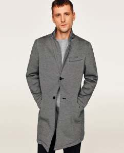 Herringbone Coat, Zara, €99.95 http://bit.ly/2BzbVQv