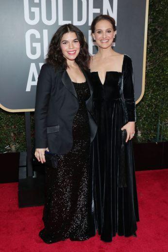 America Ferrera and Natalie Portman