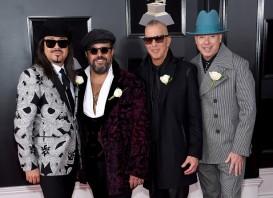 Eddie Perez, Raul Malo, Paul Deakin, and Jerry Dale McFadden of The Mavericks