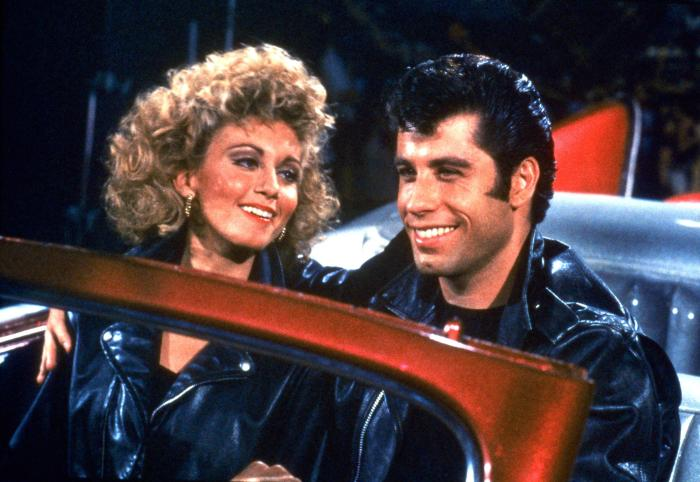 For Him For Her The Ultimate Biker Jacket for Your Inner Greased Lightning Grease John Travolta Olivia Newton-John