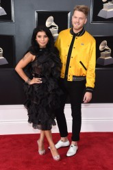 Kirstin Maldonado and Scott Hoying of Pentatonix
