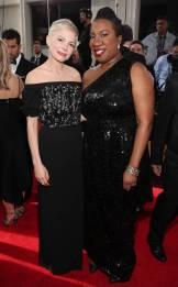 Michelle Williams and Tarana Burke