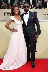Ryan Michelle Bathe and Sterling K. Brown