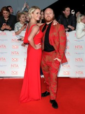 Tamzin Outhwaite and Leigh Francis