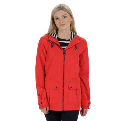 Regatta Bayeur II Lightweight Waterproof Hooded Jacket in Lollipop