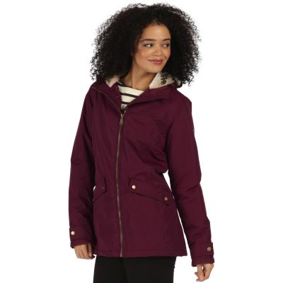 Regatta Brienna Waterproof Insulated Hooded Jacket in Fig