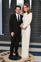 J.J. Abrams and Katie McGrath