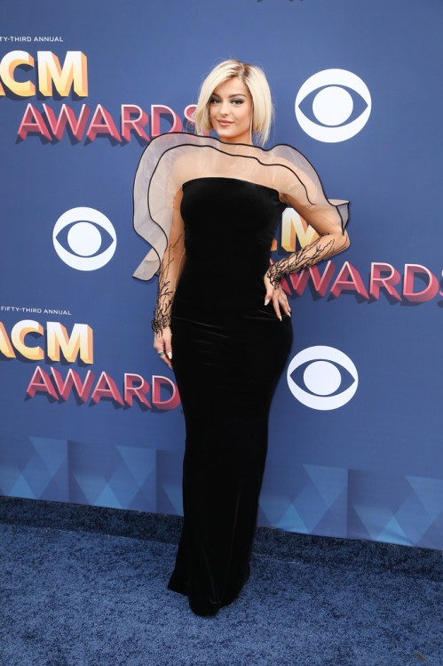 Bebe Rexha Best Dressed Academy of Country Music Awards 2018