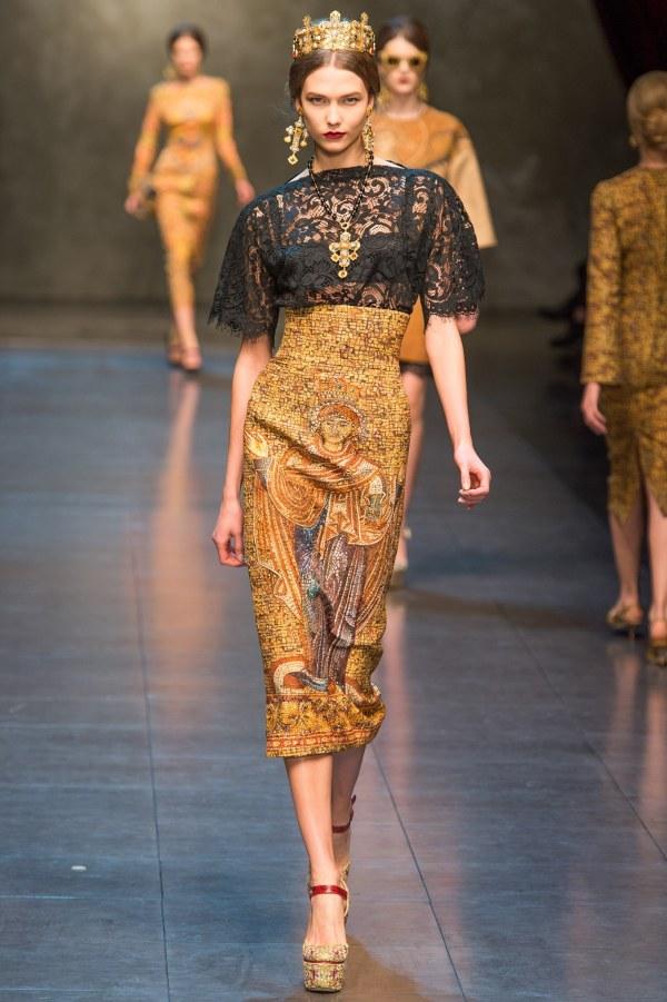 Dolce & Gabbana AW 2013 RTW
