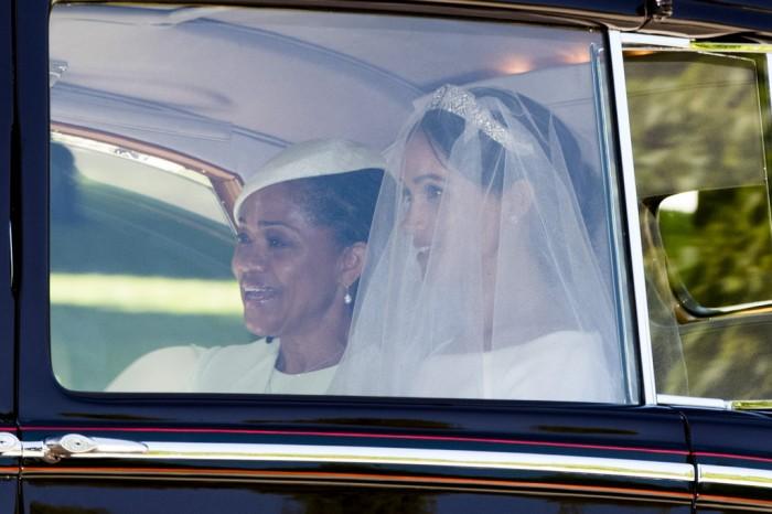 Doria Ragland and Meghan Markle Prince Harry Meghan Markle Royal Wedding