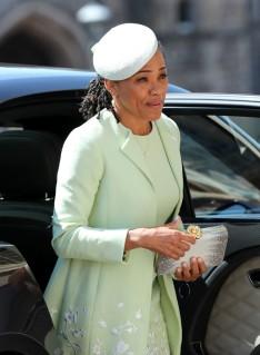 Doria Ragland Prince Harry Meghan Markle Royal Wedding