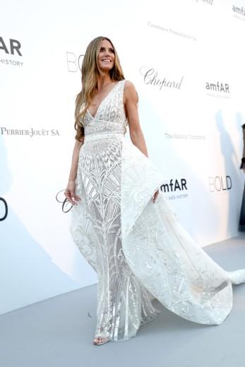 Heidi Klum at amfAR Gala Cannes 2018