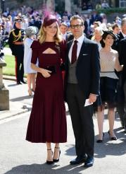 Jacinda Barrett and Gabriel Macht Prince Harry Meghan Markle Royal Wedding