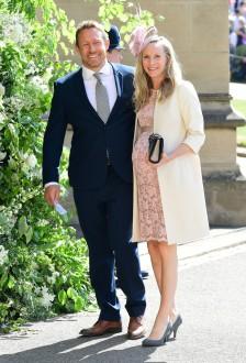Jonny Wilkinson and Shelley Jenkins Prince Harry Meghan Markle Royal Wedding