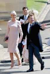 Julia Carey and James Corden Prince Harry Meghan Markle Royal Wedding