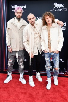 KEVI, Matthew Russell and Trevor Dahl of Cheat Codes