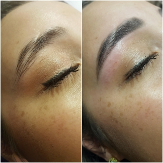 Killer Fashion Nirina PREEN Brows Before & After 4