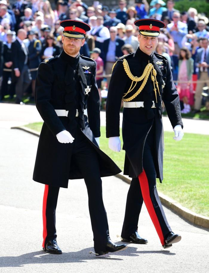 Prince Harry and Prince William Prince Harry Meghan Markle Royal Wedding