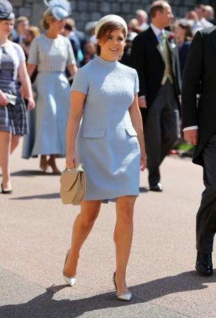 Princess Eugenie Prince Harry Meghan Markle Royal Wedding