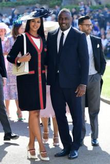 Sabrina Dhowre and Idris Elba Prince Harry Meghan Markle Royal Wedding